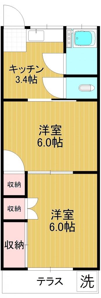 植竹ハイツ102
