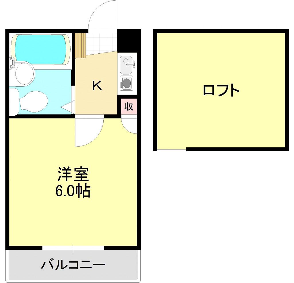 ジュネパレス北越谷第5 203号室